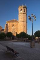 Spain, Andalusia, Banos de la Encina San Mateo Church Fine Art Print