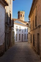 Spain, Andalusia, Banos de la Encina Street Scene Fine Art Print