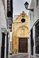 Spain, Andalusia, Cadiz, Arcos De la Fontera The Chapel of Mercy Fine Art Print