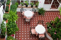 Spain, Andalusia, Arcos De la Fontera Breakfast Room of a Hotel by Julie Eggers - various sizes