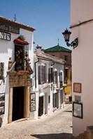 Spain, Andalusia, Cadiz, Arcos De la Fontera Typical Street View Fine Art Print