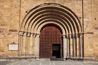 Spain, Avila St Peter's Church in the Plaza De Santa Teresa Fine Art Print