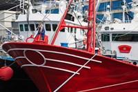 Spain, Cantabria Province, Santona, fishing boat by Walter Bibikow - various sizes
