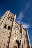 Spain, Castilla y Leon Region, Avila Avila Cathedral detail Fine Art Print