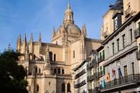Spain, Castilla y Leon, Segovia Cathedral by Walter Bibikow - various sizes