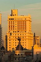Spain, Madrid, Gran Via and Edificio Espana by Walter Bibikow - various sizes