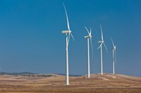 Spain, Vejer de la Frontera area, Modern Windmills by Walter Bibikow - various sizes