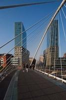 Zubizuri Bridge, Bilbao, Spain by Walter Bibikow - various sizes