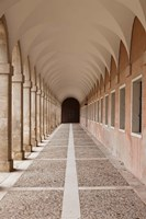 Arched Walkway, The Royal Palace, Aranjuez, Spain by Walter Bibikow - various sizes