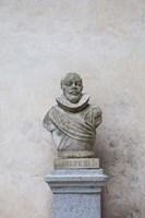 Bust of Spanish King Philip III, The Alcazar, Segovia, Spain Fine Art Print