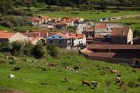 Medieval Town Buildings, Santillana del Mar, Spain by Walter Bibikow - various sizes