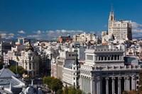 Plaza de la Cibeles, Madrid, Spain by Walter Bibikow - various sizes