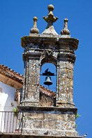 Spain, Andalucia, Cadiz Bell tower of old church in Grazalema by Julie Eggers - various sizes