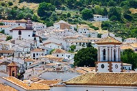 Spain, Andalucia, Cadiz Province, Grazalema View of the town by Julie Eggers - various sizes