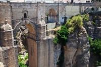 Spain, Andalusia, Ronda Puente Nuevo bridge above El Tajo gorge by Julie Eggers - various sizes