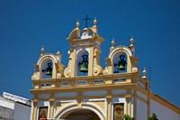 Spain, Andalusia, Zahara Bell tower of the San Juan de Letran Chapel by Julie Eggers - various sizes