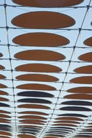 Spain, Aragon, Zaragoza Expo Site, Awning of Dots by Walter Bibikow - various sizes