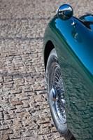 Spain, Avila, classic car 1950s Jaguar XK-150S by Walter Bibikow, 1950s - various sizes