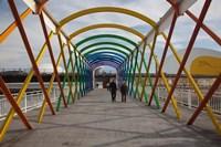 Spain, Aviles, Centro Niemeyer, Arts Center by Walter Bibikow - various sizes