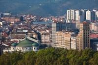 Spain, Bilbao, Parque Etxebarria Park by Walter Bibikow - various sizes