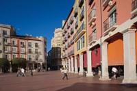 Spain, Burgos Province, Burgos, Plaza Mayor by Walter Bibikow - various sizes