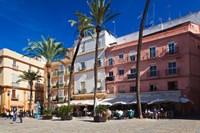 Spain, Cadiz, buildings on Plaza de la Catedral by Walter Bibikow - various sizes