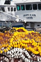 Spain Cantabria Province Santona Fishing Boat