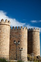 Spain, Castilla y Leon Region, Avila Scenic Medieval City Walls by Julie Eggers - various sizes