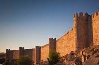 Spain, Castilla y Leon, Avila Fortification Walls by Walter Bibikow - various sizes