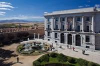 Spain, Castilla y Leon, Avila, Plaza Adolfo Suarez by Walter Bibikow - various sizes
