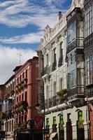 Spain, Castilla y Leon, Leon, Barrio Gotico by Walter Bibikow - various sizes
