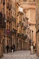 Spain, Castilla y Leon, Salamanca, Rua Mayor by Walter Bibikow - various sizes