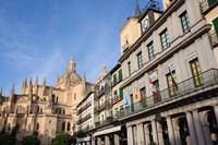 Spain Castilla y Leon Segovia Cathedral