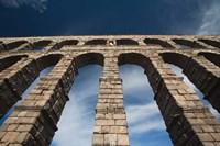 Spain, Castilla y Leon, Segovia, Roman Aqueduct by Walter Bibikow - various sizes