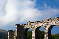 Spain, Hondarribia, abbey ruins, Jaizkibel Road by Walter Bibikow - various sizes