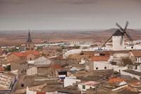 Spain, La Mancha Area, Campo de Criptana Windmills by Walter Bibikow - various sizes