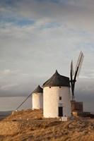 Spain, La Mancha, Consuegra, La Mancha Windmills by Walter Bibikow - various sizes - $45.99