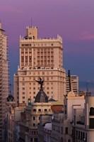 Spain, Madrid, Gran Via and Edificio Espana by Walter Bibikow - various sizes - $45.99