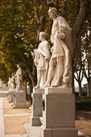 Spain, Madrid, Plaza de Oriente, Statues of Kings by Walter Bibikow - various sizes - $45.99