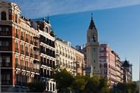 Spain, Madrid, Salamanca Area, Calle de Alcala by Walter Bibikow - various sizes - $45.99
