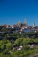 Spain, Segovia, Segovia Cathedral, Morning by Walter Bibikow - various sizes
