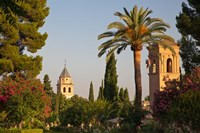 The Generalife gardens in the Alhambra Grounds, Granada, Spain by Julie Eggers - various sizes - $45.99
