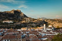 Town View, Grazalema, Spain by Walter Bibikow - various sizes, FulcrumGallery.com brand