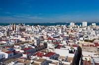 View From Torre Tavira, Cadiz, Spain by Walter Bibikow - various sizes