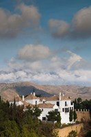 View Of Villas And La Torresilla Mountain, Malaga Province, Spain by Walter Bibikow - various sizes
