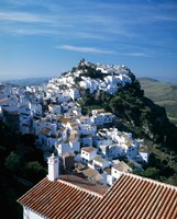 White Village of Casares, Andalusia, Spain Fine Art Print