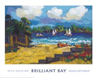 Brilliant Bay Fine Art Print