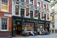Sherlock Holmes, Pub, London, England Fine Art Print