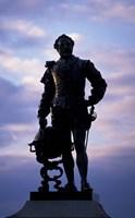 Sir Francis Drake Statue, Plymouth, England by Nik Wheeler - various sizes