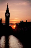 The Big Ben Clock Tower, London, England by Micah Wright - various sizes